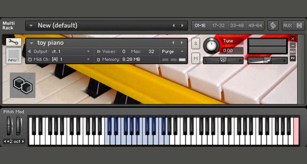 Preview image for Toy Piano - Kontakt Instrument