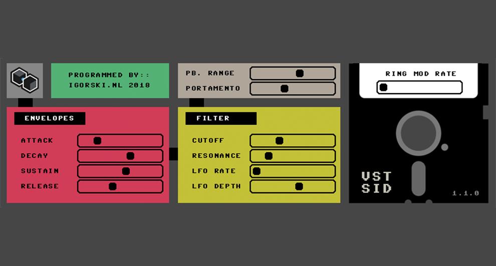 Image for VSTSID - SID synthesizer instrument