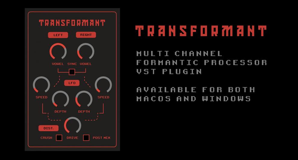 Image for Transformant - multichannel formantic noise processor