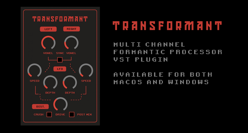 Image for Transformant - multichannel formantic noise processor
