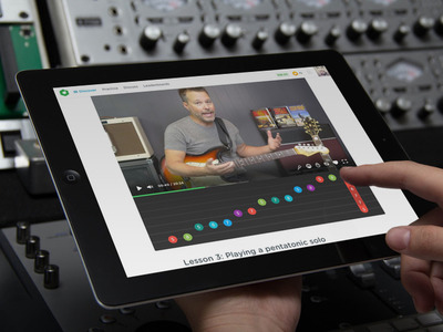 Musicparrot tablet promo image